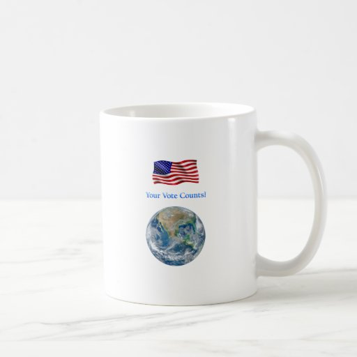 Your Vote Counts - Multiple Products Mug
