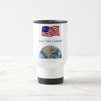 Your Vote Counts - Multiple Products Stainless Steel Travel Mug