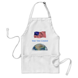 Your Vote Counts - Multiple Products Standard Apron