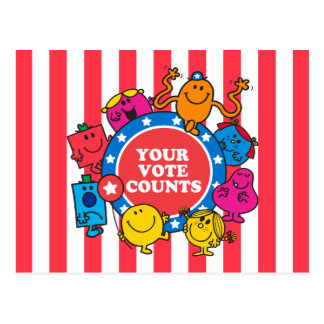 Your Vote Counts! Postcard