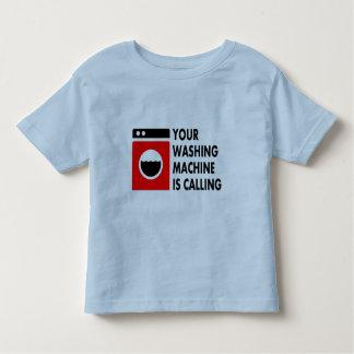 Your Washing Machine is Calling Toddler T-Shirt