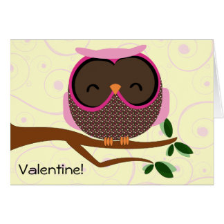 You're a Hoot Valentine Card