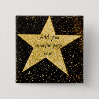 You're A Star_ 15 Cm Square Badge
