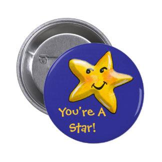 You're A Star Encouragement Button