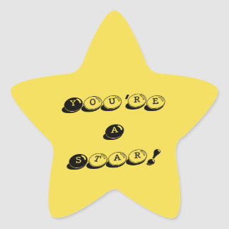 You're A Star Stickers
