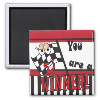 You're a Winner Square Magnet