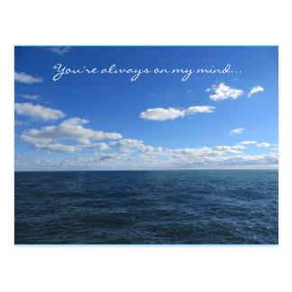 You're Always On My Mind Postcard