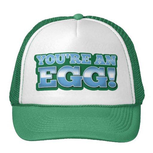 You're an EGG!  an awesome kiwi saying Mesh Hats