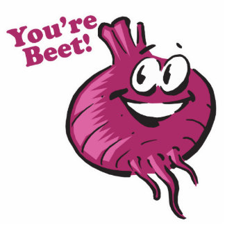 Youre Beat funny beet cartoon Photo Cutouts