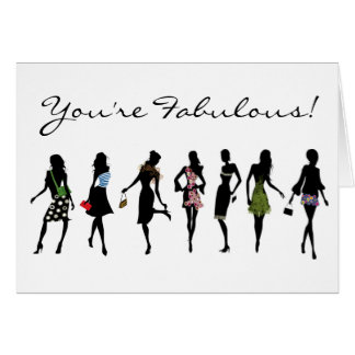 You're fabulous greeting card