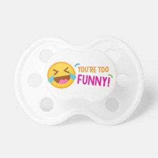 You're Funny Emoji Dummy