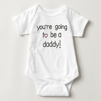 You're Going to be a Daddy! Pregnancy Announcement Baby Bodysuit