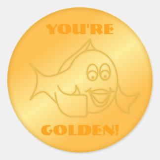 You're Golden! Sticker