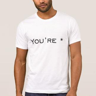 You're - Grammar Correction T-Shirt