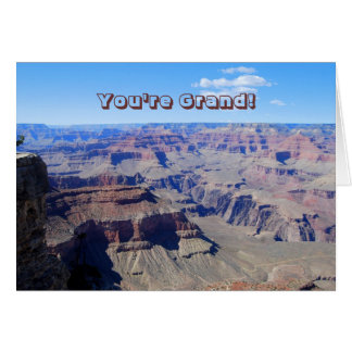 You're Grand!, Grand Canyon Birthday Card