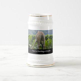 Your'e Having A Giraffe Beer Stein