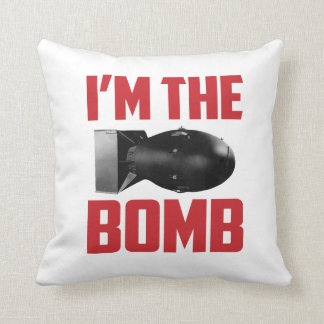 You're (I'm) The Bomb Square Pillow