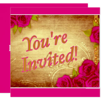 """""""You're Invited!"""" Card"""