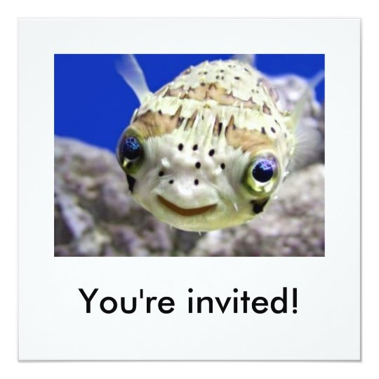 You're invited! card