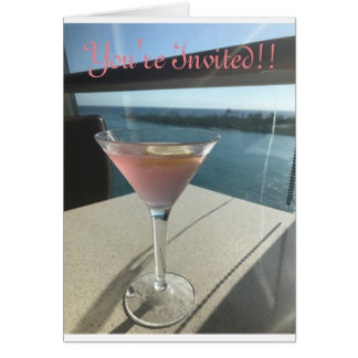 You're Invited - Cosmo Card