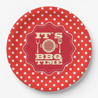 You're Invited Father's Day Party Paper Plates