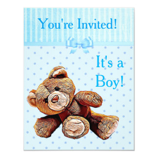 You're Invited, It's a Boy Baby Shower Invitation