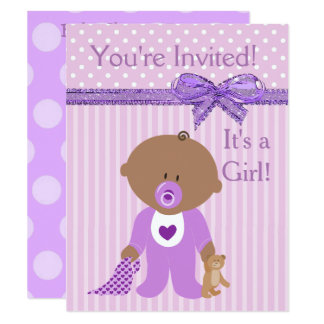 You're Invited, It's a Girl Baby Shower Invitation
