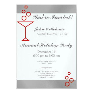 You're Invited! Silver Card