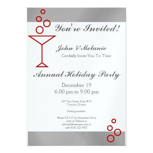 You're Invited! Silver Custom Invite