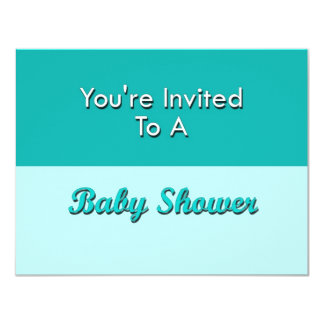 You're Invited To A Baby Shower 11 Cm X 14 Cm Invitation Card