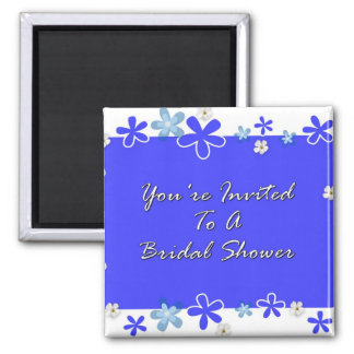 You're Invited To A Bridal Shower Square Magnet