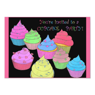 You're Invited to a Cupcake Party Invitations