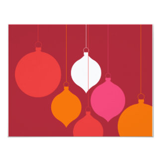 You're invited to a holiday party 11 cm x 14 cm invitation card