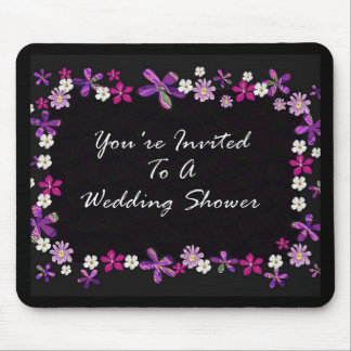 You're Invited To A Wedding Shower Mousepad