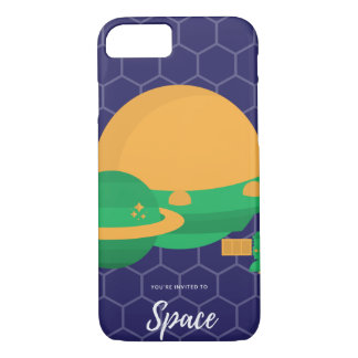 You're invited to Galaxy Spaceship iPhone 8/7 Case