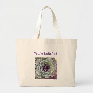 You're Kalin' It! fun quote tote