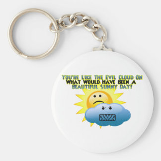 You're Like The Evil Cloud Key Ring