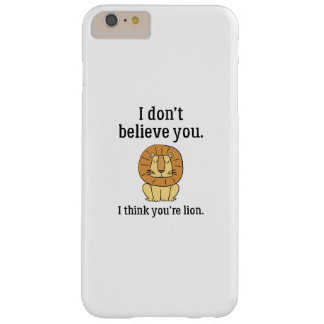 You're Lion Barely There iPhone 6 Plus Case