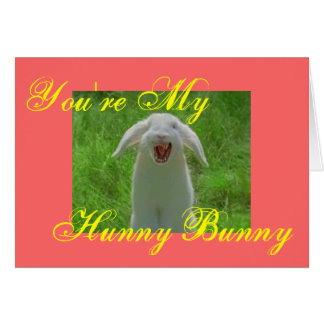 You're My [evil] Hunny Bunny Card