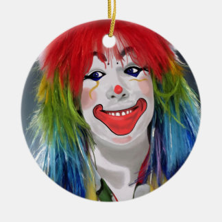 You're My Favorite Clown Ceramic Ornament