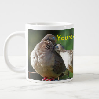 You're My Lovey Dovey Morning Dove Large Coffee Mug