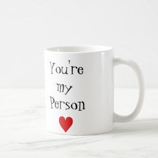 You're my person coffee mug