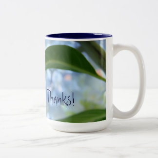 You're My Person mugs Thanks Floral Hydrangeas