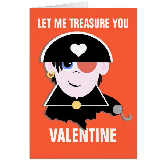 You're My Treasure Valentine Card