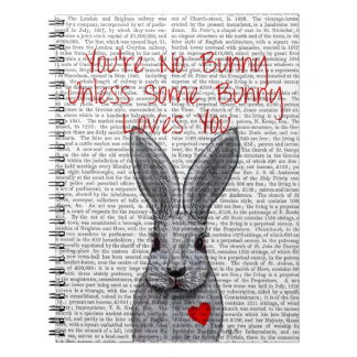 You're No Bunny Spiral Note Book