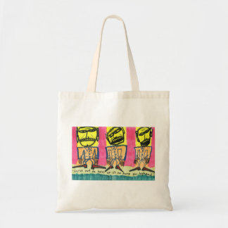 You're Not Da Boss of Us Tote Bags