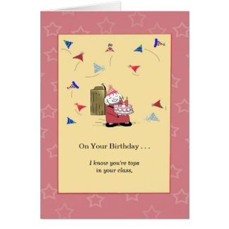 You're Number One with Me - Birthday Card
