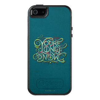 You're One Of Us Now Green Graphic OtterBox iPhone 5/5s/SE Case