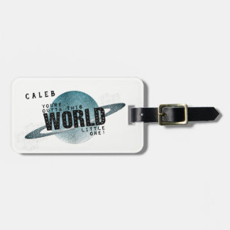You're Out of This World Personalized Boy's Gift Luggage Tag