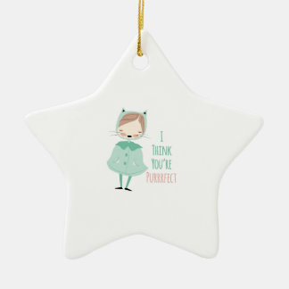 Youre Purrrfect Christmas Tree Ornaments